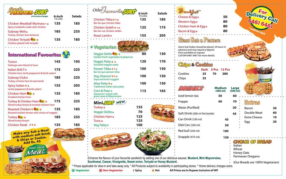 French Restaurants Menu Card