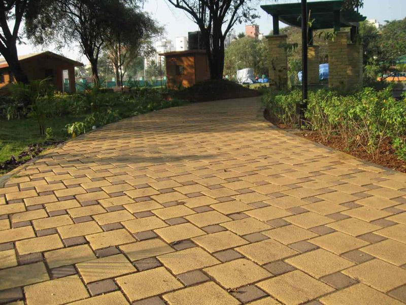 Car Park Tiles Design