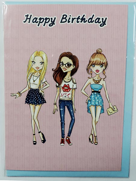 Happy Birthday Cards For Teenage Girls
