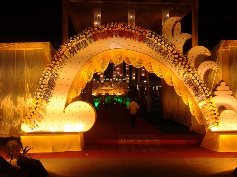 Services Wedding Gate Decoration In Offered By Royal