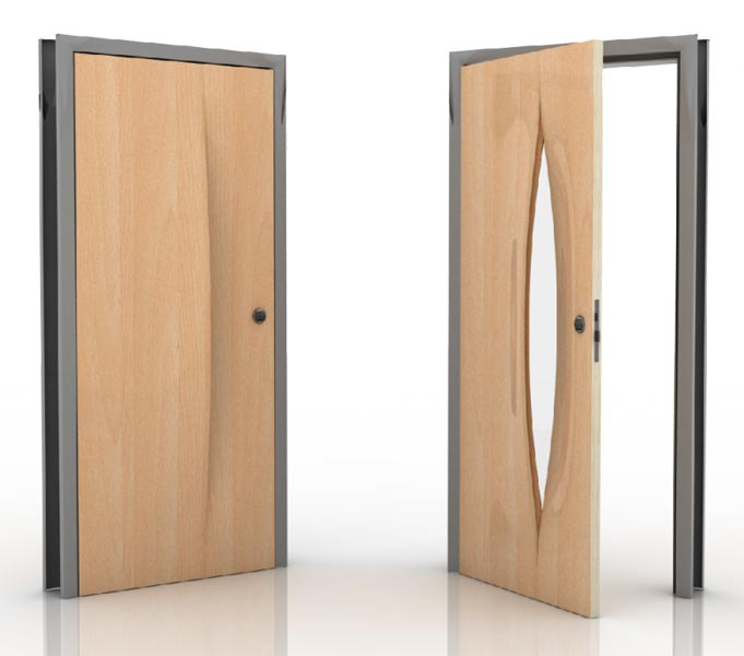 Plywood doors design modern lamination doors sc 1 st for Plywood door design