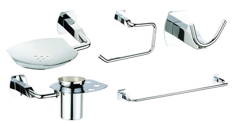 Get the most elegant bathroom shining at your home for Where to get bathroom accessories