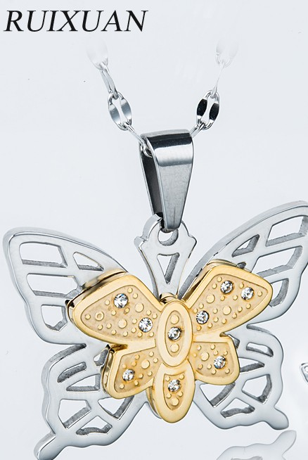 New Design Custom Butterfly Gold Pendant Jewelry  D701G202. Buy New Design Custom Butterfly Gold Pendant Jewelry from Dongguan