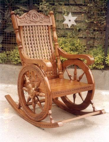 Wooden Rocking Chair Manufacturer In Uttar Pradesh India