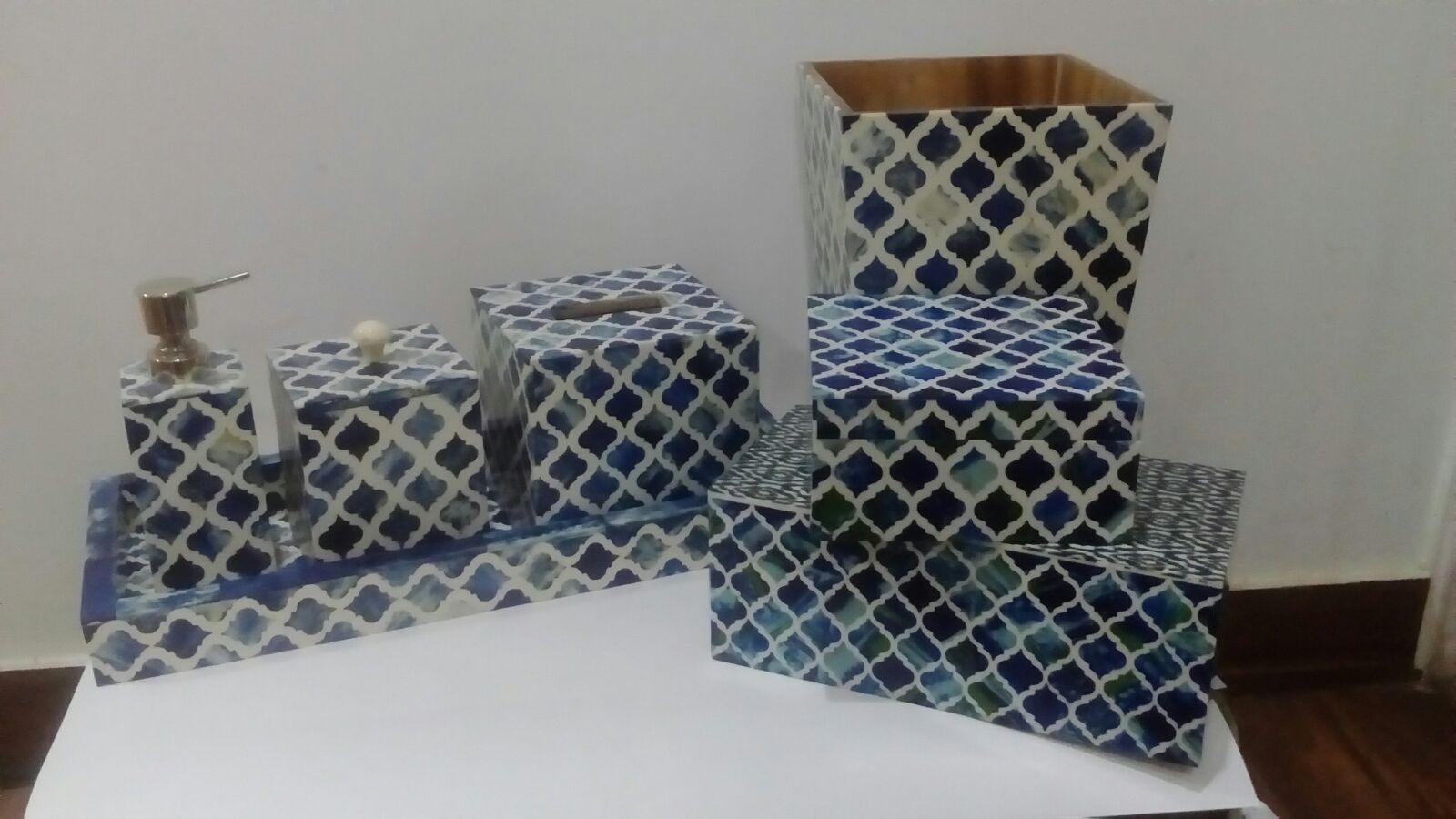 Sea Gl Bathroom Accessories Design Ideas