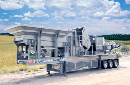 Mobile crusher plants manufacturer manufacturer from for Ptable nashik