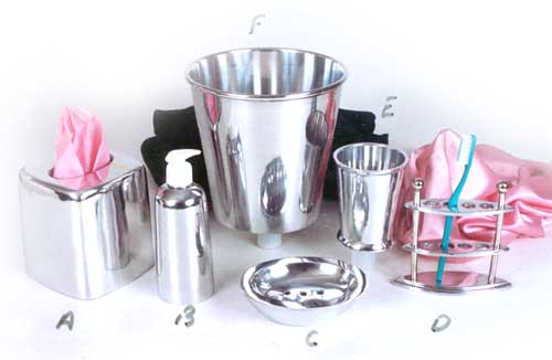 Products silver plated manufacturer inmoradabad uttar for Bathroom accessories india online