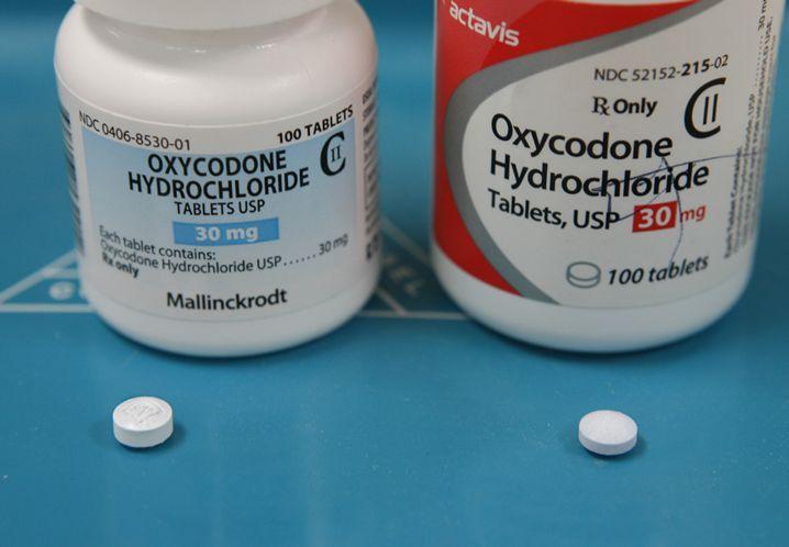 Oxycontin pill mg