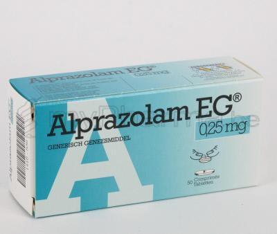 alprazolam lactation category