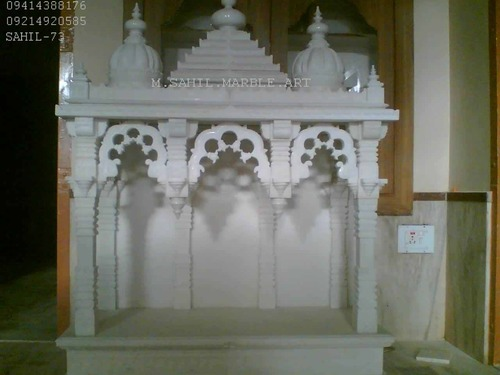 Marble Makrana Temple Manufacturer Inmakrana Rajasthan India By Sujain Marble Art Id 2682584