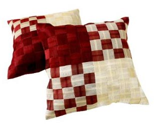 Ultra Modern Pillows : Checkerboard Cushion Covers Manufacturer & Manufacturer from New Delhi ID - 519295