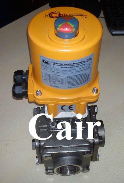 Multi port ball valves actuators manufacturer
