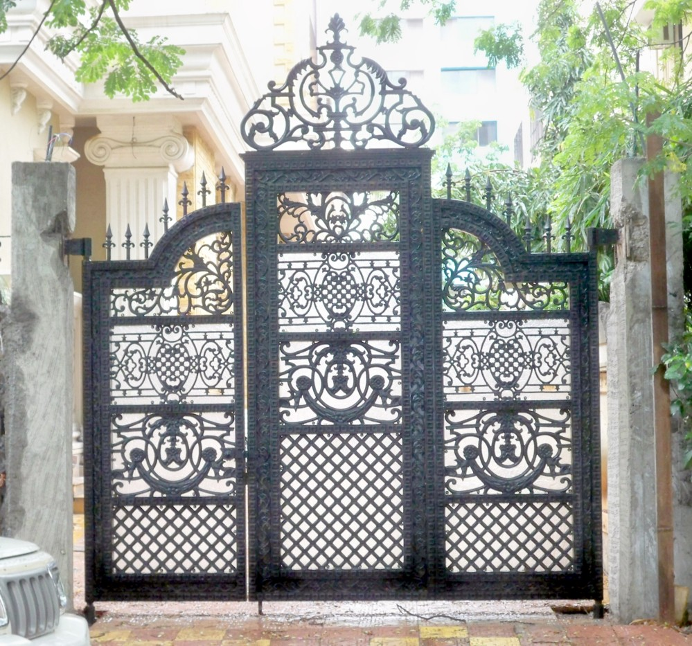 home gate image iron gate designs for homes - Designer For Homes