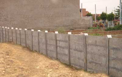 Reinforced Cement Concrete Boundary Wall Manufacturer