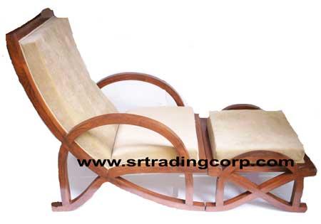 Wooden Relaxing Chair Manufacturer Inmoradabad Uttar