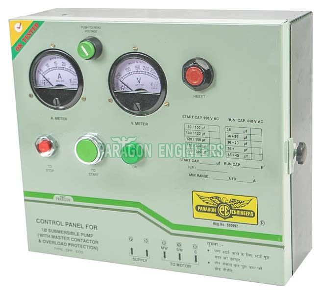 Buy Single Phase Submersible Control Panel From Paragon