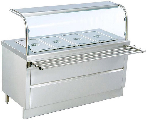 Modern kitchen island size - Hot Bain Marie Counter Wholesale Suppliers Faridabad
