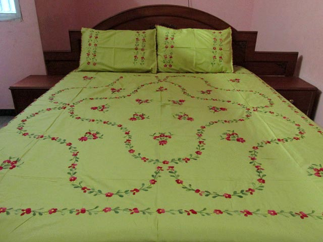 Hand Embroidered Bed Covers Bangdodo
