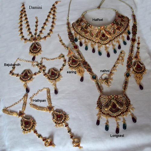 Artificial Jewellery Sets For Wedding: Artificial Bridal Jewellery Set Manufacturer InSurat