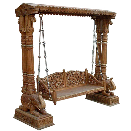 We are Leading Indian Manufacturer & Exporter of Royal Wooden Furniture such as Sofa Set, Swings (jhoola), Dining Tables, Bed, Temple, Mandap Etc. and ...
