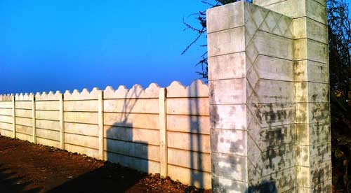 Precast Compound Wall : Products precast compound wall manufacturer