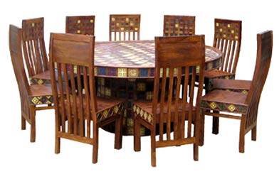 dining table set from jangid art crafts jodhpur india id