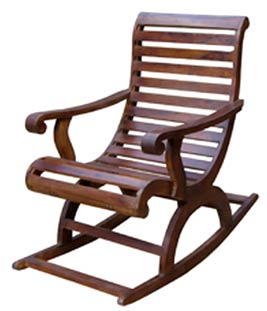 Products - Buy Sheesham Wood Rocking Chair from Jangid Art & Crafts ...