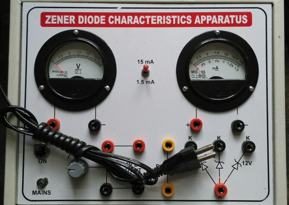 Zener Diode Apparatus Zener Diode Apparatus ...