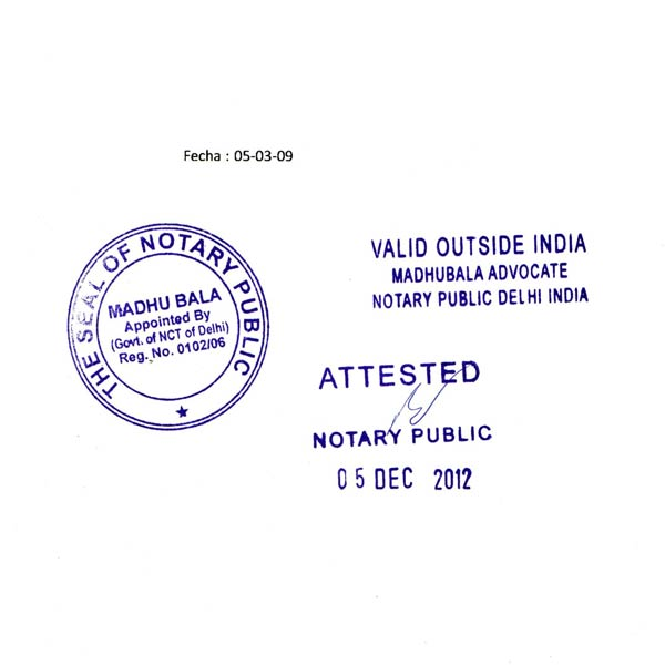 Notary Public Attestation Services In New Delhi Offered By