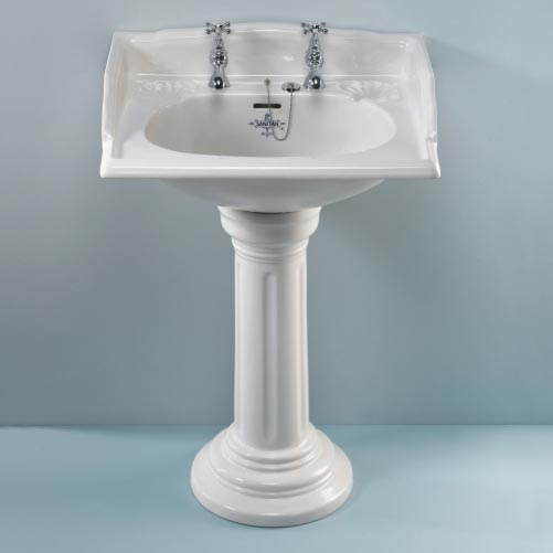 Wash Basin With Pedestal : ... most attractive features in any washroom is the wash basin obtain from