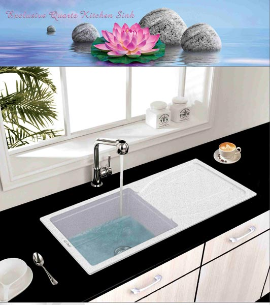 Single Bowl Kitchen Sink With Drainer Manufacturer & Manufacturer from ...