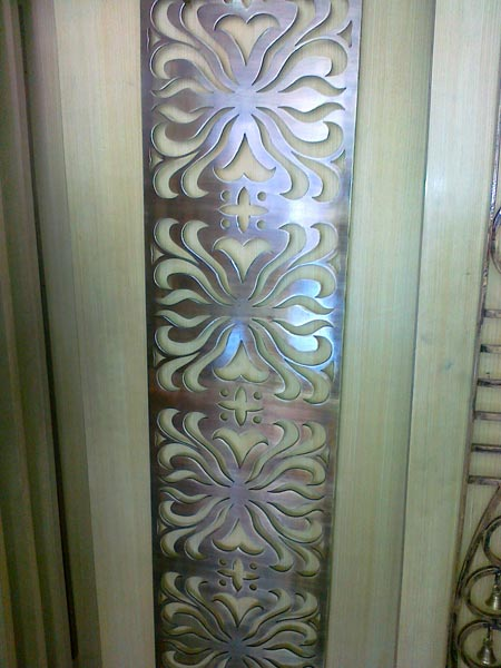 Products designer safety door grills in laser cutting for Entrance grill door designs