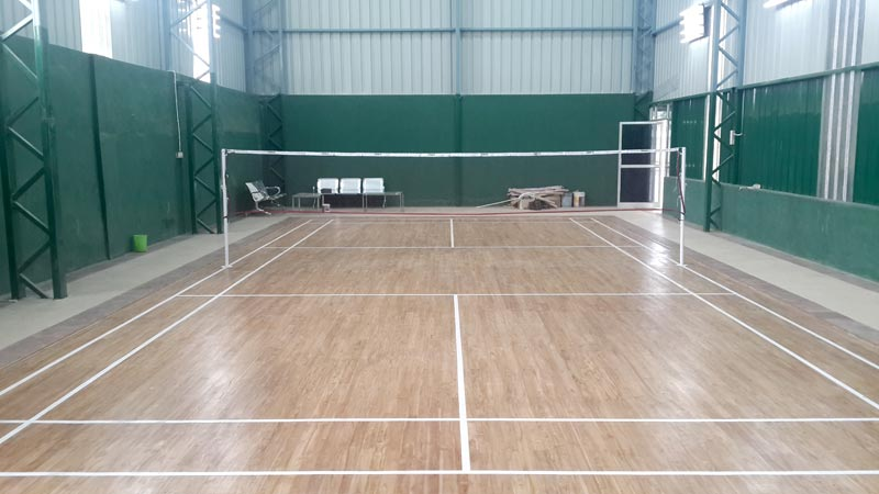 Badminton Court Manufacturer Inmumbai Maharashtra India By Asian Flooring India Private Limited