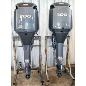 Products Pair Of 2004 Yamaha 300 Hp 30 Outboard Motors