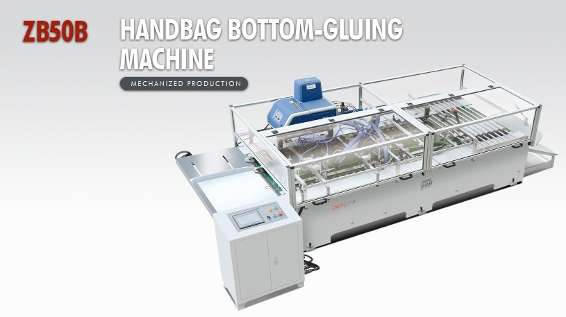 paper gluing machine