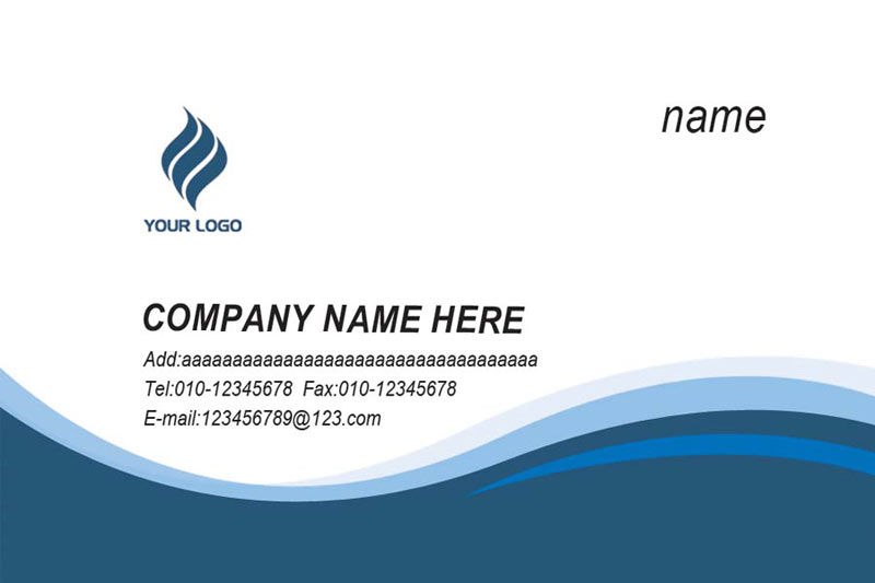 Visiting Card Printing in Offered by Manu Digital Graphics India – Sample of Name Card