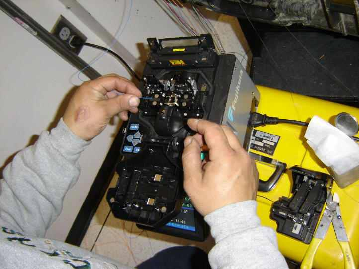 Fiber Optic Cable Splicing : Services fiber optic cable splicing from jeddah