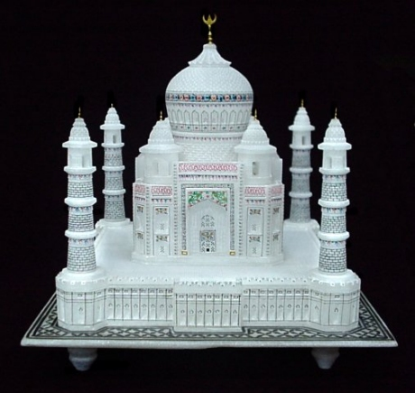 Products Buy Taj Mahal Replica Handmade Marble Stone