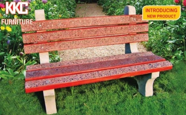 Concrete Garden Benches Manufacturer inFaridabad Haryana India by