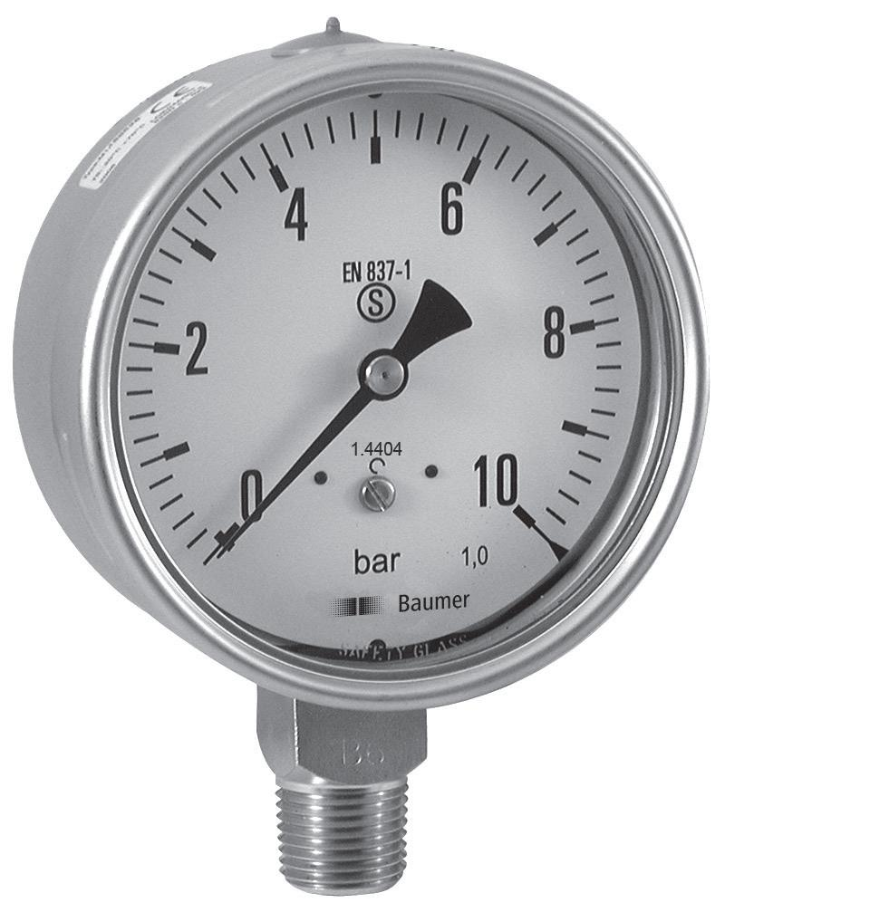 High Pressure Vacuum Gauge : Products buy wika pressure gauge from aqab engineers