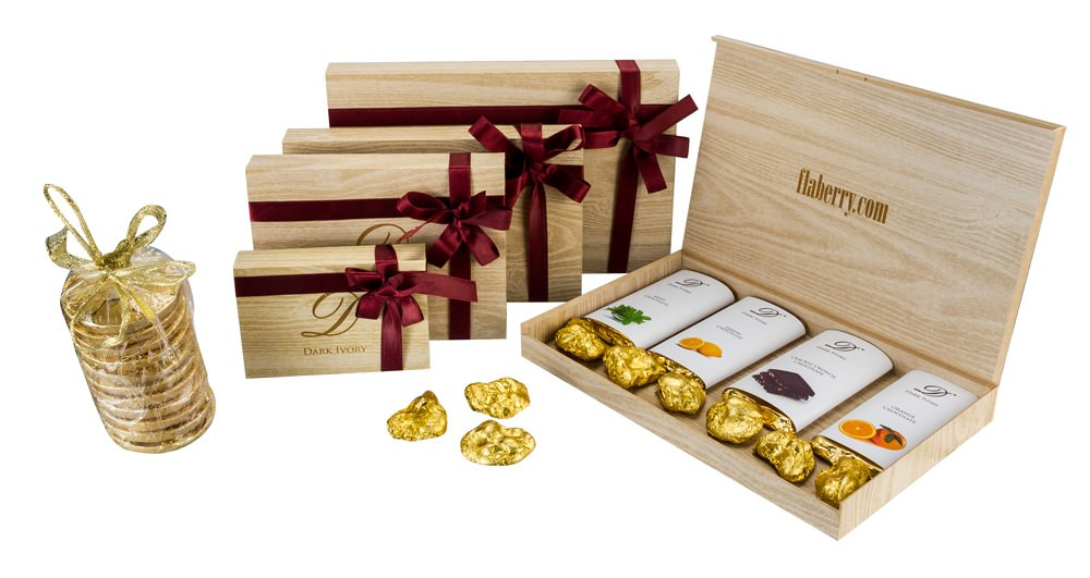 Chocolate Gift Boxes Delhi : Products buy dark ivory hamper extra large from flaberry