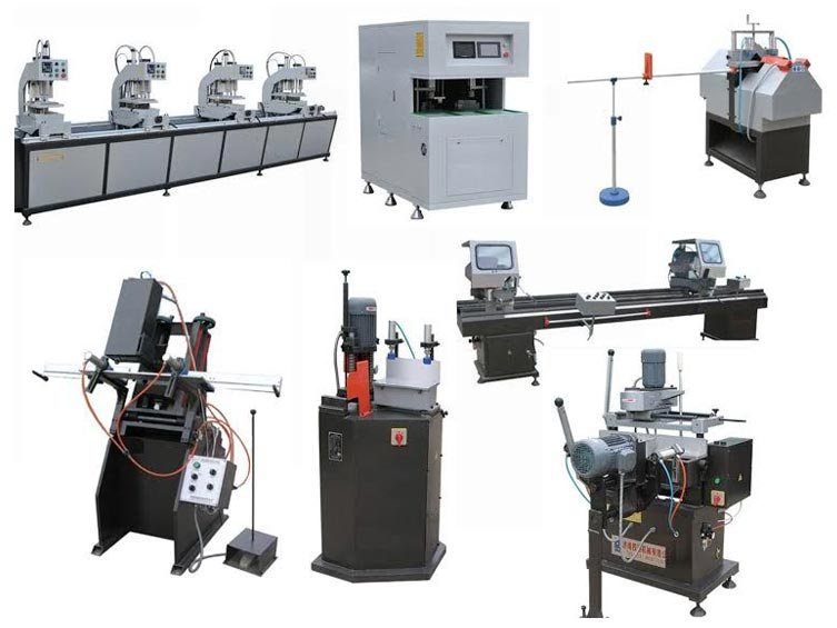 upvc window making machine suppliers