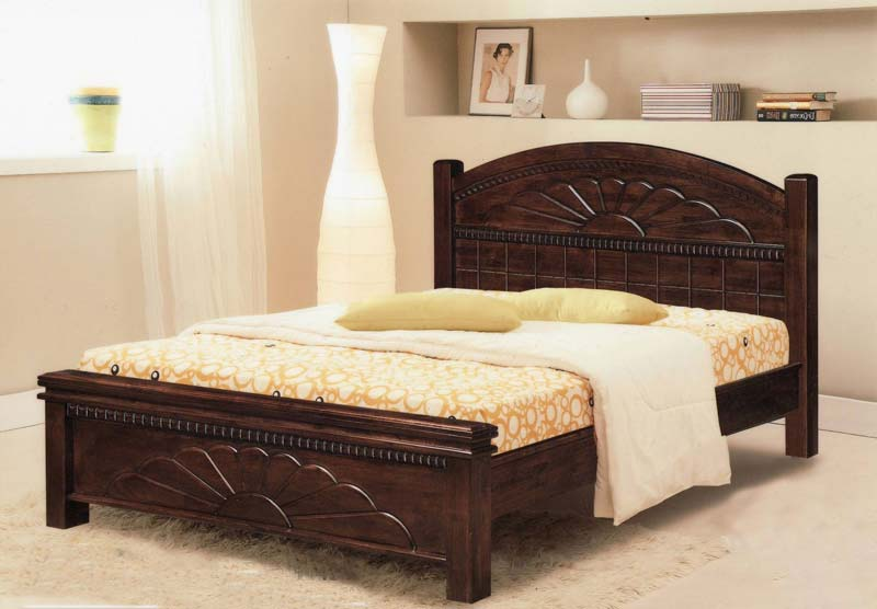 buy wooden double bed from woodage furnishers india id 1018447. Black Bedroom Furniture Sets. Home Design Ideas