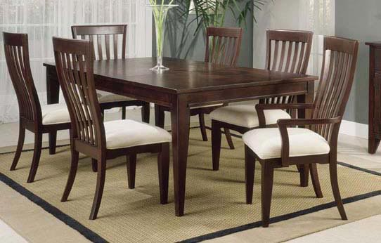 Indian Wood Dining Table And Chairs Wooden Dining Room Chairs