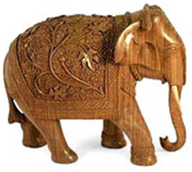 Woodcarved Household Decorative Items
