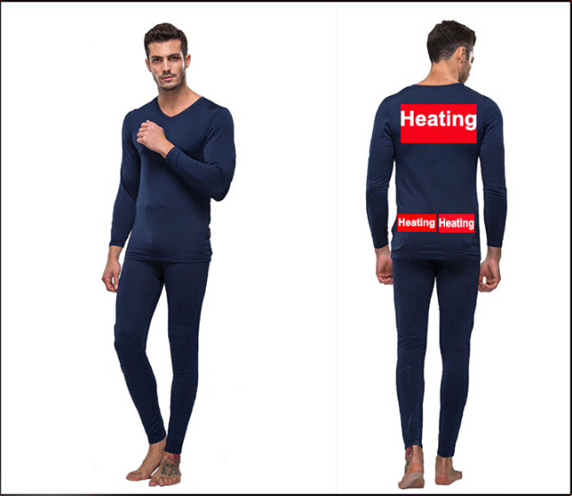 Buy Mens Thermal Underwear with High-tech Electric Heating System ...