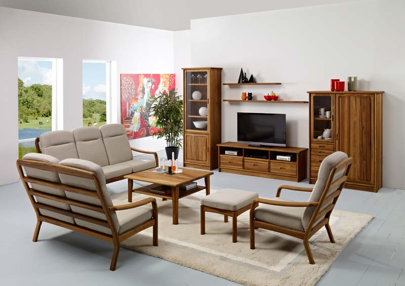 1260h teak wood living room furniture manufacturer in for Wooden living room furniture