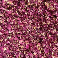 Dried Organic Rose Petals