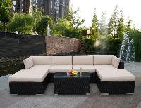 solar outdoor garden furniture