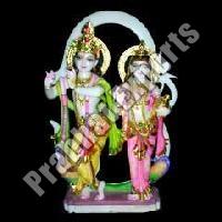 Marble Jugal Radha Krishna Statue